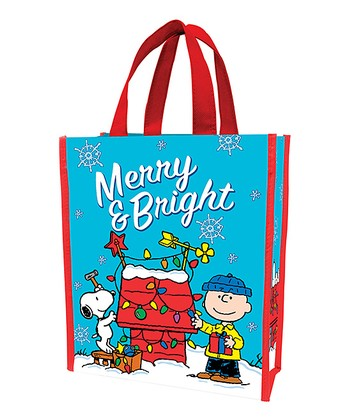Peanuts 'Merry & Bright' Shopping Tote - Set of Two