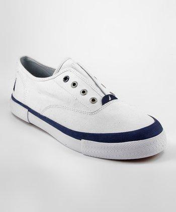 White Deckloom Slip-On Sneaker