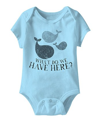 Aqua 'What Do We Have Here?' Bodysuit - Infant