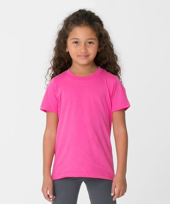 Fuchsia Tee - Toddler & Kids