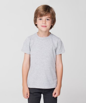 Heather Gray Tee - Toddler & Kids