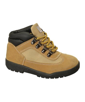 Wheat Lace-Up Boot