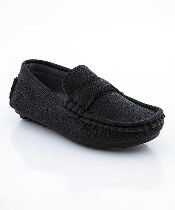 Black Stitch Loafer