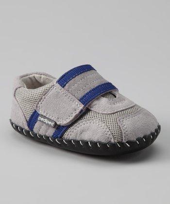 Gray & Navy Originals Adrian Sneaker