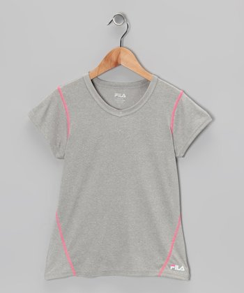 Gray Heather Tee