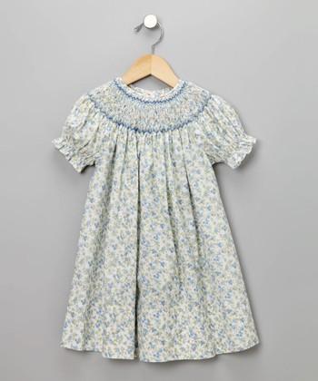 light blue floral sundressbaby girls easter dress on zulily at up to 70% off boutique vwX8li8P