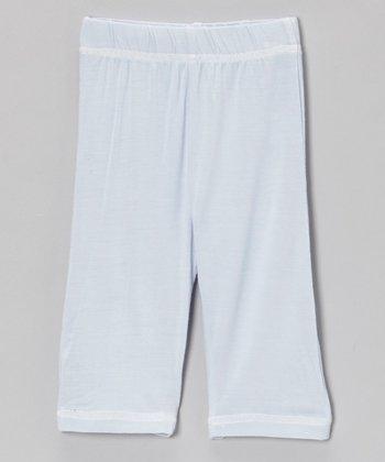 Light Blue Organic Pants - Infant