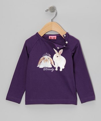 Crown Jewel Ally Bunny Tee - Infant