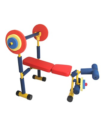 Redmon Weight Bench Set Zulily