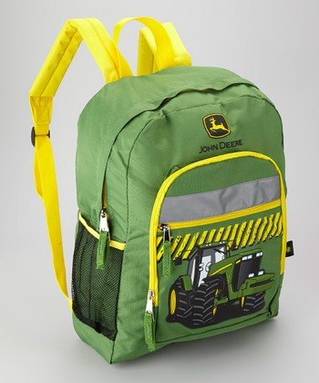 Green & Yellow Tractor Backpack