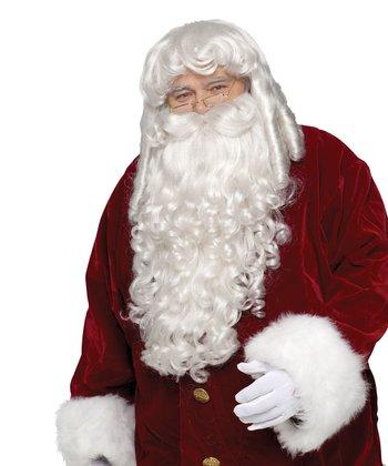 White Santa Beard & Wig - Men & Women