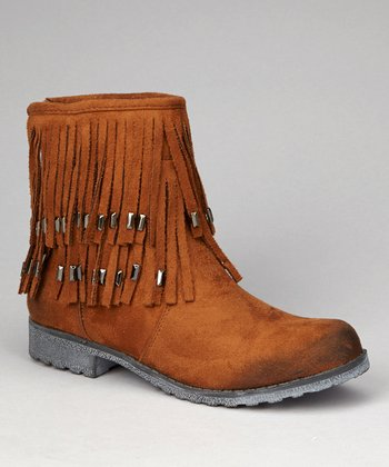 Tan Fawn Ankle Boot
