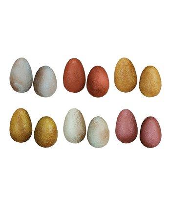 Small Textured Decorative Egg Set