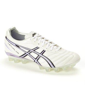 White & Lavender Lethal DS 3 IT Soccer Shoe - Men