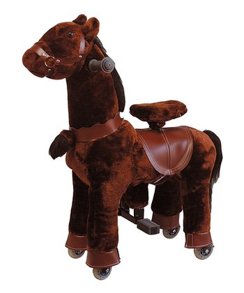 Chocolate Giddy Up Horse