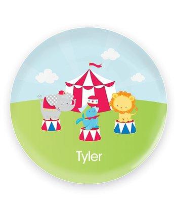 Fun Circus Personalized Plate