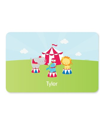 Circus Fun Personalized Place Mat