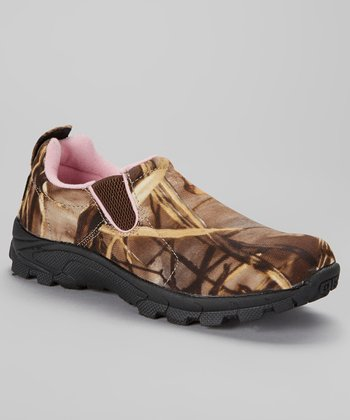 duck commander brown pink camo shoe zulily