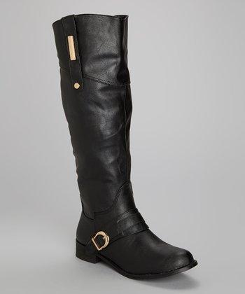 Black Panora Boot