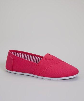 Fuchsia Tammy Slip-On Sneaker