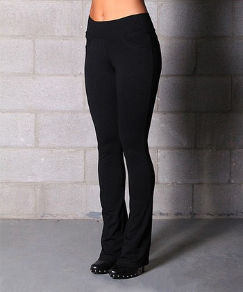 Amazing Home  Womens  Pants  Sanctuary Black Bootcut Courier MYP37860XL