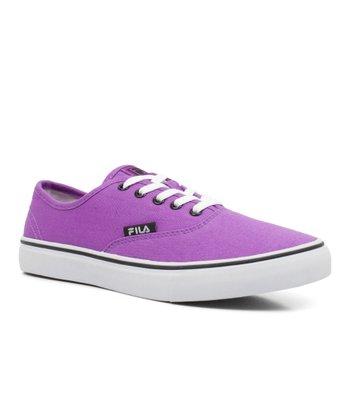 Purple & White Classic Sneaker