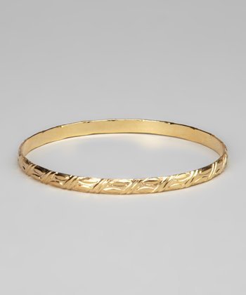 Gold Endless Bangle