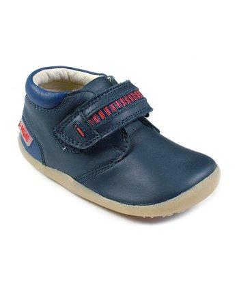Navy & Red I-Walk Work Boots