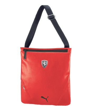 Red Ferrari LS Magazine Shoulder Bag | zulily