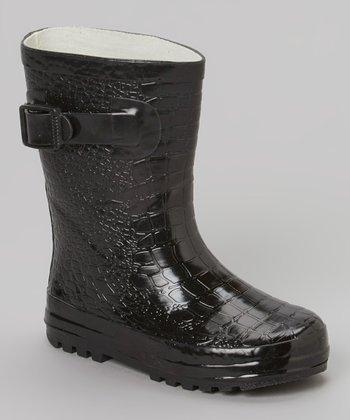 Black Camp Rain Boot