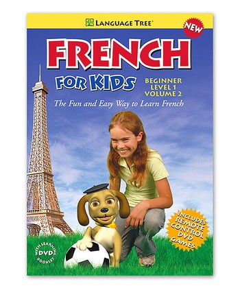 Beginner French for Kids Volume 2 DVD & Booklet