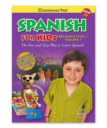 Beginner Spanish for Kids Volume 1 DVD & Booklet