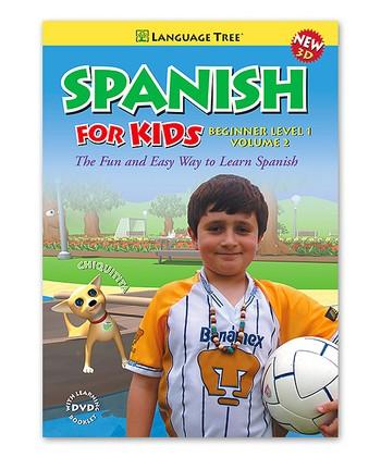 Beginner Spanish for Kids Volume 2 DVD & Booklet