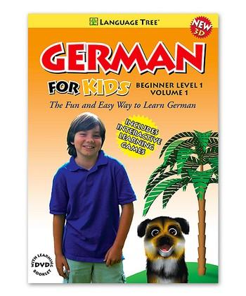 Beginner German for Kids Volume 1 DVD & Booklet