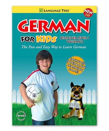 Beginner German for Kids Volume 2 DVD & Booklet