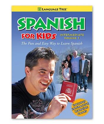 Intermediate Spanish for Kids Volume 1 DVD & Booklet