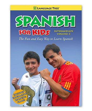 Intermediate Spanish for Kids Volume 2 DVD & Booklet