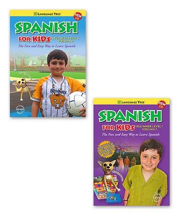 Spanish for Kids Beginners Set