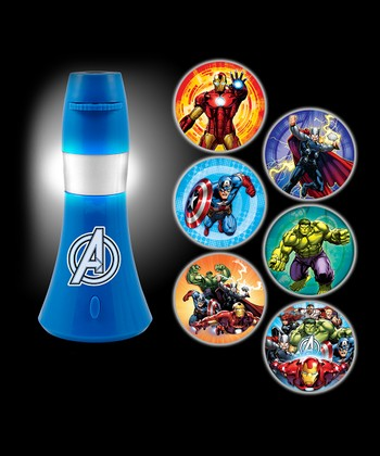 Avengers six image projectables led night light zulily - Avenger nightlights ...