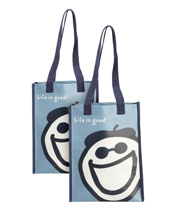 Small Recycled Jake Tote - Set of Two