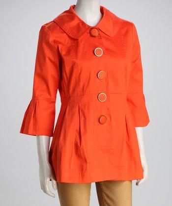 Guava Orange Jacket - Women