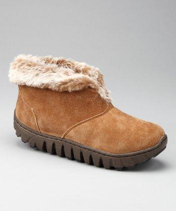 Tan Lila Range Faux Fur Boot