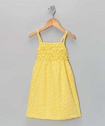 Yellow Ruffle Dress - Toddler