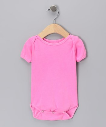 Neon Pink Bodysuit - Infant
