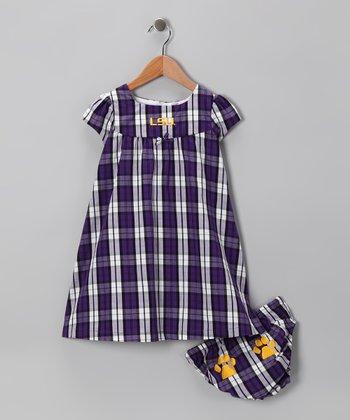 LSU Tigers Dress & Diaper Cover - Toddler