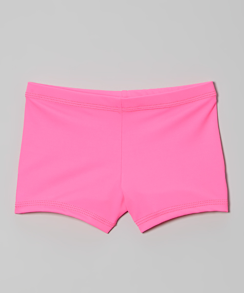 Hot Pink Dance Shorts Toddler Girls