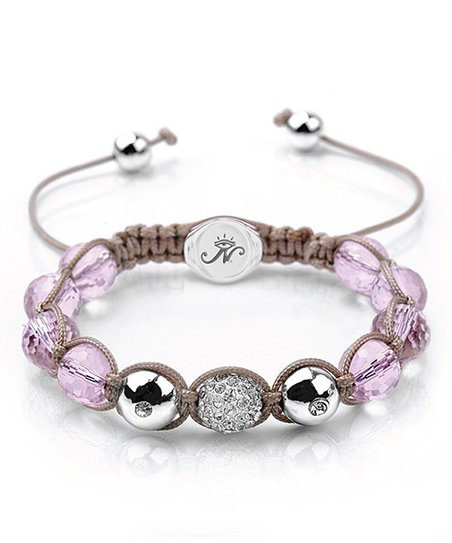 Pink Dreamcatcher Kikiballa Bracelet Made with SWAROVSKI ELEMENTS