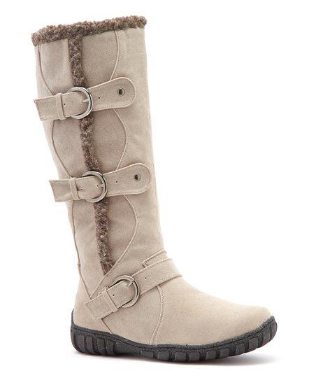 Stone Suvega Wide-Calf Boot
