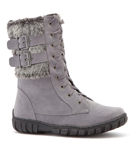 Gray Phineas Boot