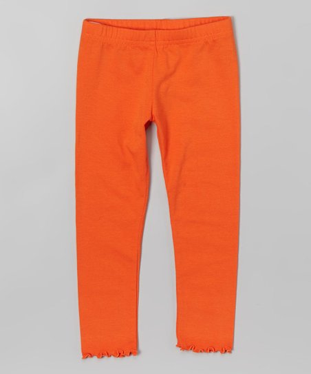 Orange Toddler Leggings
